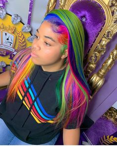 Colored Weave Hairstyles, Cute Hairstyles For Medium Hair, Black Women Hairstyles, Medium Hair Styles, Black Hair Spray, Lemonade Braids Hairstyles, Sew In Wig, Hype Hair, Wigs Online