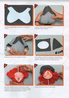 Como hacer muñeca frida kahlo - Revistas de manualidades Gratis