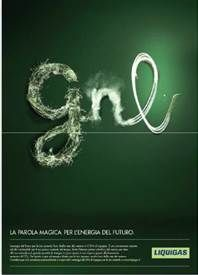 Al via la campagna pubblicitaria Liquigas per il lancio del GNL. Firma Grey   Pubblicità Italia