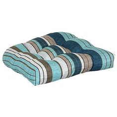 SONOMA outdoors Blue Stripe Chair Pad