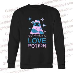 love pation japanese sweatshirt