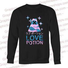 love pation japanese sweatshirt