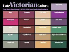 period home colour schemes australia - Google Search
