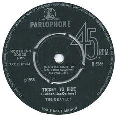 "Beatles Singles Collection 1962-1970 7/"" Vinyl 45RPM Parlophone Records List 2"