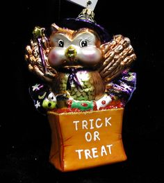 Image detail for -Halloween Christopher Radko Vintage Ornaments