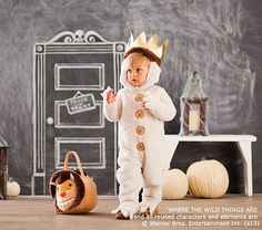 Baby Where The Wild Things Are Max Costume #pbkids I so want James to fit into this for Halloween this year!!!