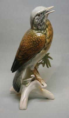 KARL ENS Vogel Bird Porzellanfigur Figurine Porcelain
