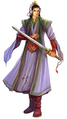 Male Taoist from Conquer Online