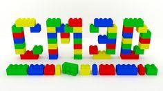 Construccion de logotipo de empresas en modelado 3D, con un poco de inspiracion para los seguidores de Lego ;) ...pieza a pieza!