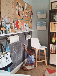 Mudroom or office ideas
