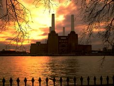 Battersea Power Station... a few minutes walk from my flat.