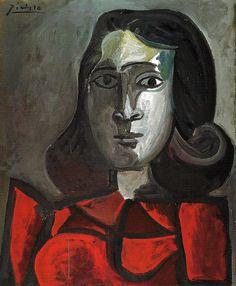 Pablo Picasso - Portrait Dora Maar, 1943 at Sammlung Rosengart Art Museum Lucerne Switzerland
