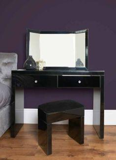 Winkelschreibtisch schwarz  schminktisch mit spiegel in schwarz | Spiegel Modelle | Pinterest