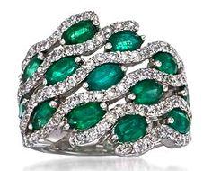 Emerald & Diamond Ring                                                                                                                                                                                 More
