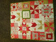 Baby Lila quilt