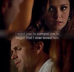TVD 6x01 I don't even like them together & my heart still broke when she decided on this course of action