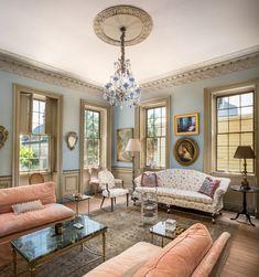 beautiful, traditional family room area #EllisCreekPhotography