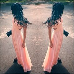 How to Chic: PASTEL MAXI DRESS