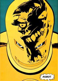 "Tim Sale - Iron Man vs. Hulk (from ""HULK: GRAY"")"