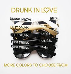 ***How to Order: In the note to seller section at checkout, copy, paste & complete the following 1)Text Side 1/Side 2 (We can do custom text!) 2)Font (Font shown in display picture is Market Fresh) 3)Date Needed by *Note-- You can choose multiple colors! (i.e. white pair for the bride!)
