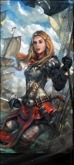Female Pirate | Igor Artyomenko