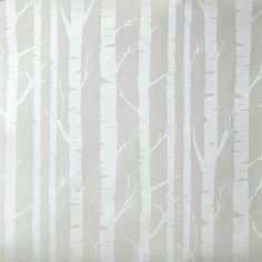 Caselio Oh La La Tapete Bäume grau