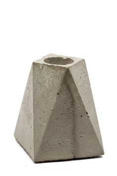 Give your Thanksgiving table some modern flare with this cement candle stick holder.