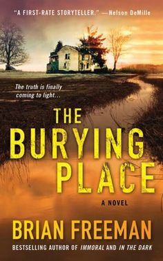 The Burying Place You will NOT be able to put this book down! This is the best and most creative murder mystery novel I've ever read! For my MN friends, It's set in the Duluth area. Book Nerd, Book Club Books, Book Lists, The Book, I Love Books, Great Books, Books To Read, Thriller Books, Mystery Novels