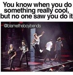 Yes, i do this all the time, I'll do some type of jump or flip or something and no one will see it