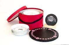 www.platosypizarras.com Porcelain, Tableware, Porcelain Ceramics, Dinnerware, Tablewares, Dishes, Place Settings