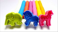 Learn Name English Colours with Modelling PlayDough Animal Molds Educational Video for Kids http://youtu.be/47WYQfaqC8o