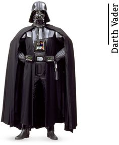 """Darth Vader - from """"A Fans Guide to Star Wars"""" by daniekl #StarWars"""