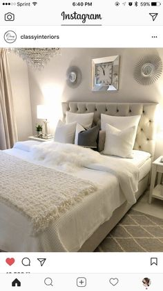 Master bedroom headboard - Home Decor Bedroom Home Decor Bedroom, Bedroom Makeover, Interior Design Bedroom Teenage, Home Bedroom, Home Decor, Interior Design Bedroom Small, Apartment Decor, Remodel Bedroom, Bedroom Headboard