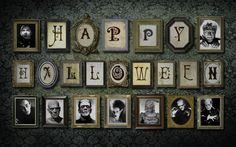 awesome Halloween Wall