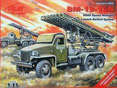 1/35 BM-13-16N Sov.Multiple Launch Rocket System