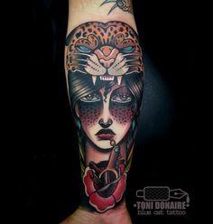 De Jaguar en Pinterest   Tatuaje De La Pantera Negra, Tatuaje De