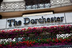 The Dorchester Hotel, London, UK.