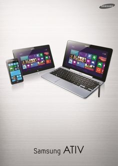 Samsung ATIV Tab, ATIV Smart PC et Smart PC Pro !
