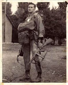 Paratrooper from the 82nd Airborne Division.