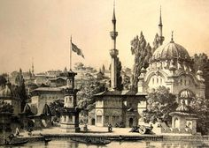 Nusretiye Mosque in Tophane district of Beyoğlu, Istanbul.