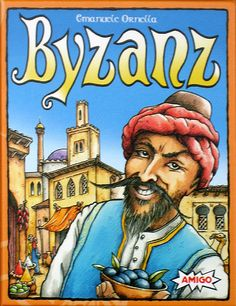 Byzanz. Looks like a great little card game, but we already have Jaipur, Nile DeLuxor and others that are similar.