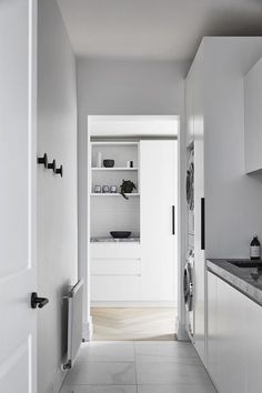 Home Interior Design — A throwback to our Toorak House 2 project, an. Laundry Nook, Mudroom Laundry Room, Laundry Cabinets, Laundry In Bathroom, Laundry Room Inspiration, D House, Laundry Room Design, Home Interior Design, Decoration