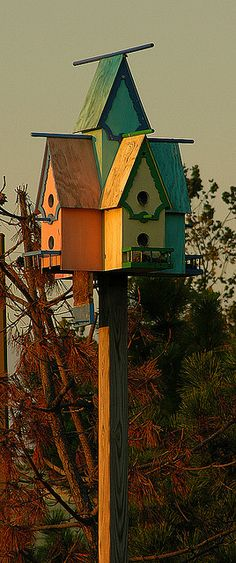WEST CAPE MAY SHOPPES BIRDHOUSES | Flickr - Photo Sharing!