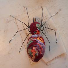spider sculpture par mr Finch