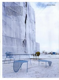 World of Interiors Shoot - Moroso Banjooli chair