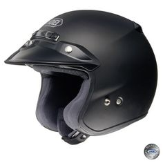 Casco moto SHOEI RJ PLATINUM R Negro Mate | Cascos de moto