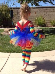 Rainbow Brite costume #halloween