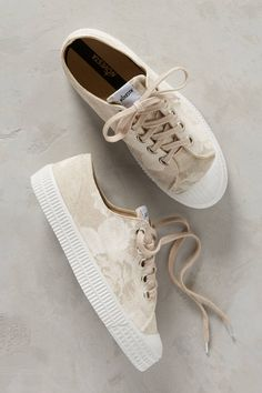 6bf6ad943309c2 Shop the Novesta Linen Floral Sneakers and more Anthropologie at Anthropologie  today. Read customer reviews