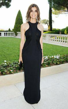 Carine Roitfeld wearing Givenchy
