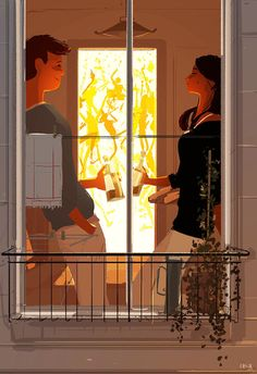 ⌨IT'S A PARTY by Pascal Campion⌨ #pascalcampion #paintings #artwork